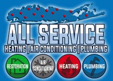 All Service Heating and Conditioning Logo